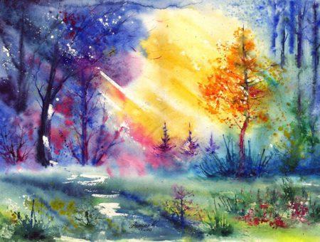 Я чувствую мир по-иному, через энергии, через цвет…..